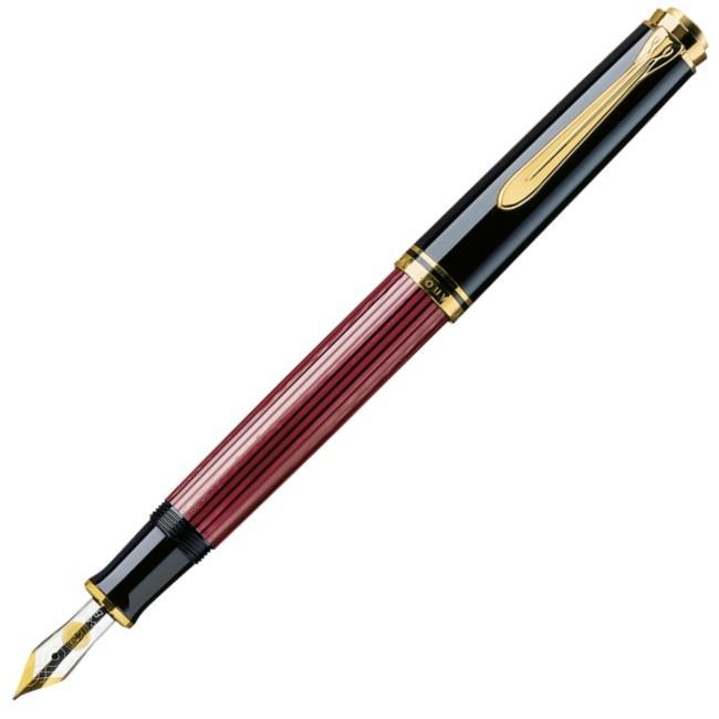 caneta_tinteiro_pelikan_m400_black_red
